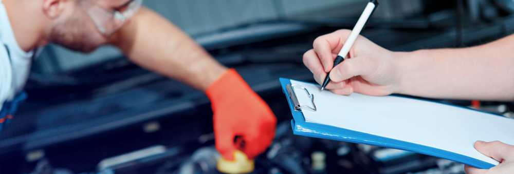 Mechanics doing an MOT Worcester - Book an MOT Online
